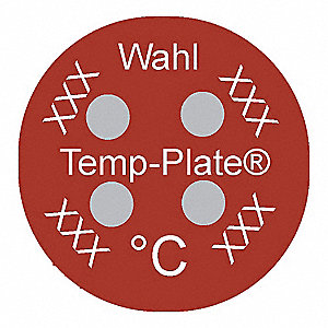 Non-Rev Temp Indicator,Mylar,PK10