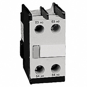 Aux Contact,IEC,1NO/1NC,120VAC/240VDC