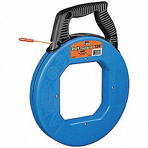 Ideal fish tape 3 16 in x 120 ft fiberglass 6ecr4 31 544 for Ideal fish tape