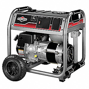 Portable Generator, 120/240VAC Voltage, 3500 Rated Watts, 4375 Surge Watts, 29.2/14.6 Amps @ 120/240