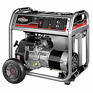 Recoil Gasoline Portable Generator, 6500 Rated Watts, 8125 Surge Watts, 120VAC/240VAC
