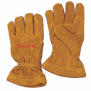 Firefighters Gloves,M,Cowhide Shell,PR