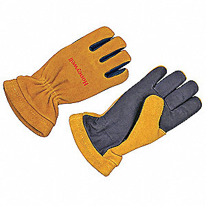 Firefighters Gloves,M,Kangaroo,PR