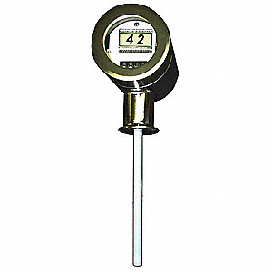 Sanitary Level Transmitter, 2 in Tri-Clamp Fitting, 72 in Stem Length