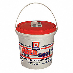 Gray Duct Sealant, 1 gal. Pail