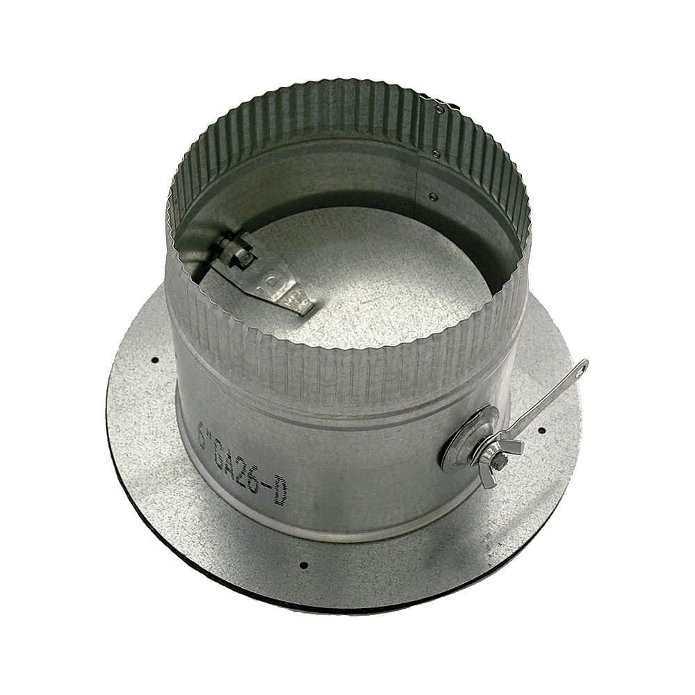 """GR6POCR12GA24D GREENSEAM Collar W//Damper,12/"""" Duct Size"""