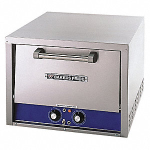 Electric Deck Oven,Single,L 25 In
