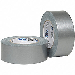 55m x 48mm Polyethylene Duct Tape, Silver