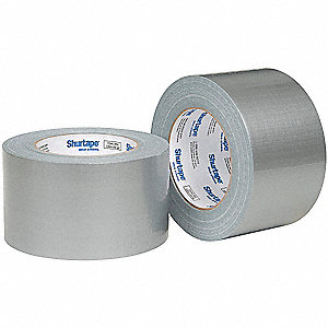 55m x 72mm Polyethylene Duct Tape, Silver