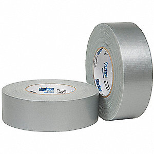 Industrial Duct Tape, 48mm X 55m, 10.00 mil Thick, Metallic, 1 EA
