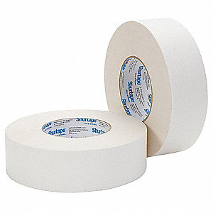 48mm x 55m Gaffer's Tape, White, Package Quantity 24