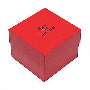 CryoFile XL,Cryogenic Box,Red,PK15