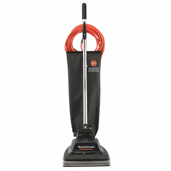 """HOOVER Bagged Upright Vacuum With 12"""" Cleaning Path, 95"""