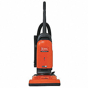 "Bagged Upright Vacuum with 15"" Cleaning Path, HEPA Filter Type, 12 Amps"