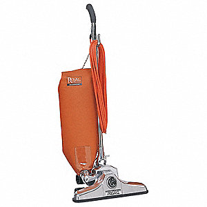 "Bagged Upright Vacuum with 18"" Cleaning Path, HEPA Filter Type, 10 Amps"