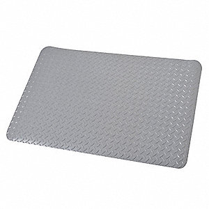 MAT,2X3,GRAY,DIAMOND STAR,9/16 THIC