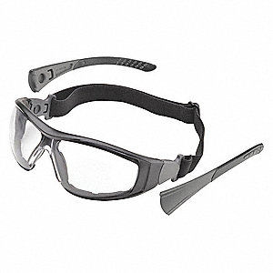 Go-Specs II Anti-Fog Safety Glasses, Clear Lens Color