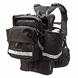 Black Wildland Fire Pack,  1000 Denier Cordura
