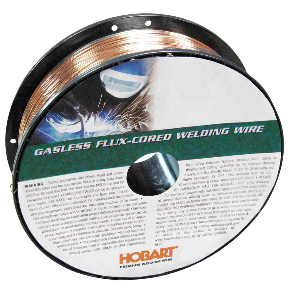 HOBART 10 lb. Carbon Steel Spool MIG Welding Wire with 0.030 ...