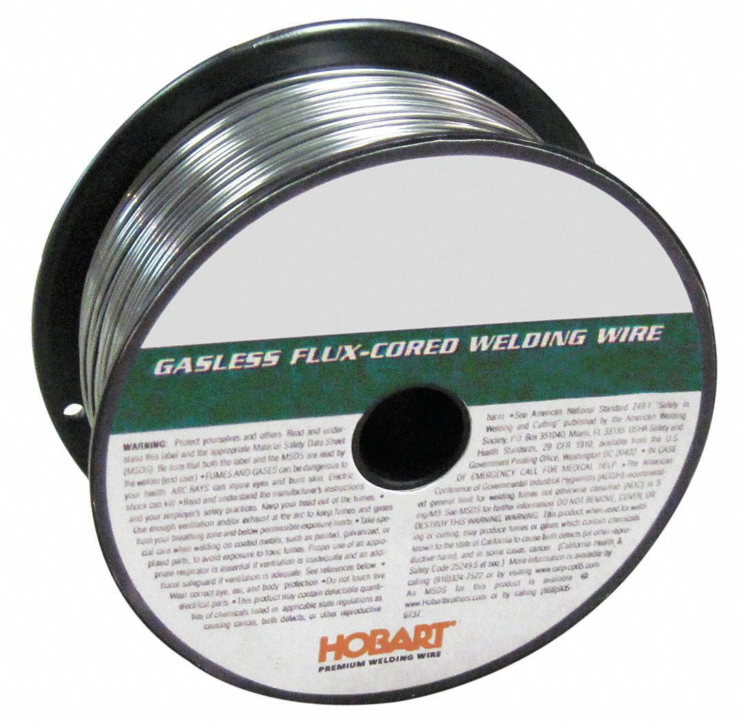 HOBART 2 lb. Carbon Steel Spool MIG Welding Wire with 0.035 ...