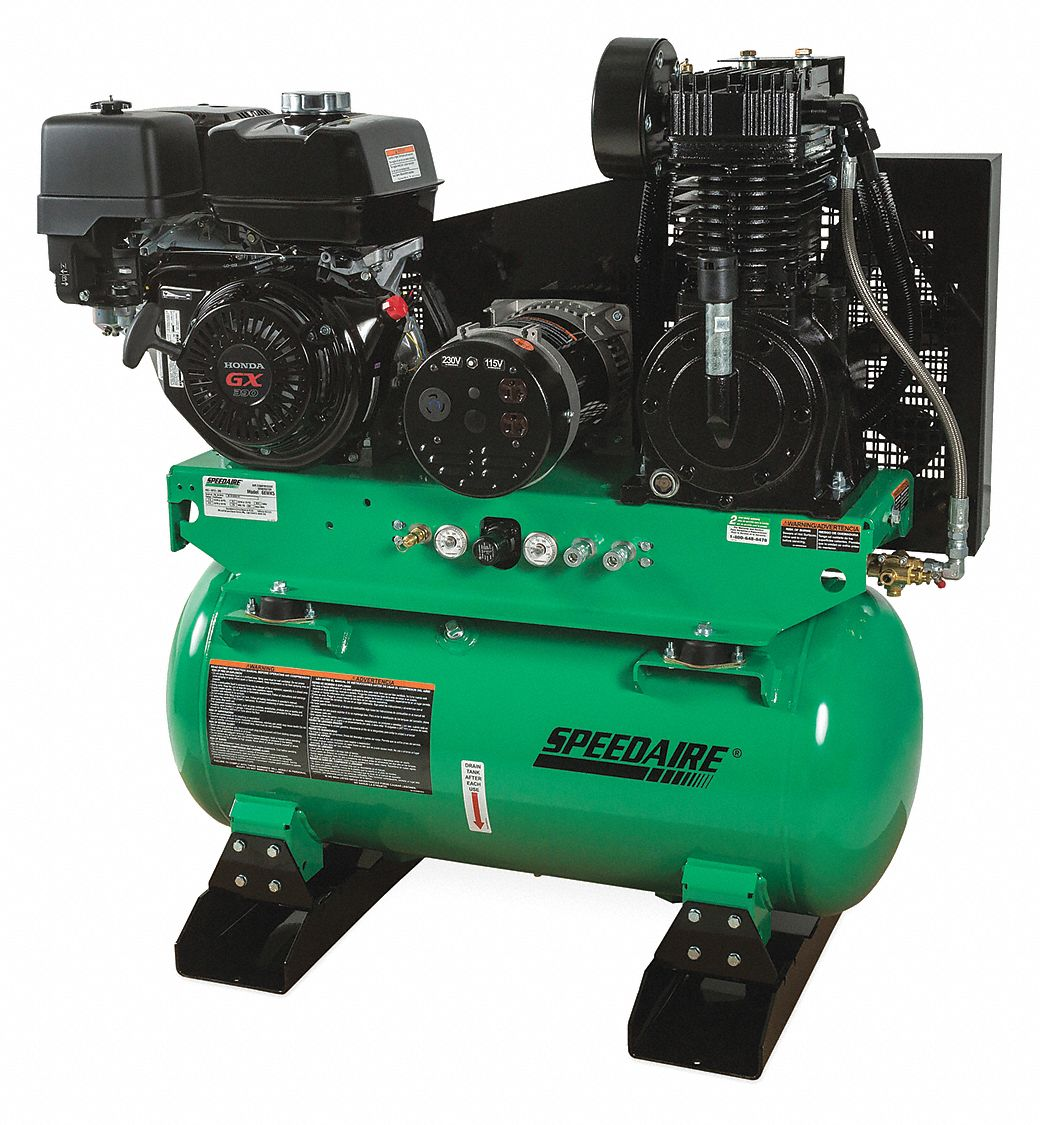 SPEEDAIRE 30 gal. Stationary Air Compressor/Generator - 6EWK5|6EWK5 -  Grainger