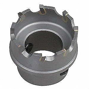 Hole Saw,1-3/8 In Dia,Carbide
