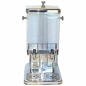 3 gal. Double Beverage Dispenser