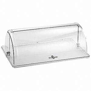 Hinged Dome Cvr,Rectangle,21-1/2x13-1/4