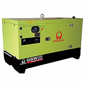 Liquid Engine Cooling, 277/480VAC Voltage, Engine Size: 3.3L, 41 kVA Rating, 3 Phase
