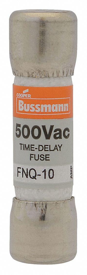 Bussmann FNQ-2 FNQ 2 2Amp Time-delay Supplemental Fuses 500Vac