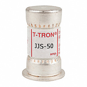 50A Fast Acting Melamine Fuse with 600VAC Voltage Rating&#x3b; JJS Series