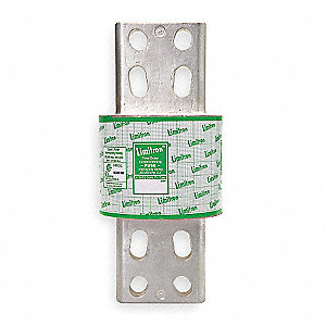 2500A Time Delay Fiberglass/Melamine Fuse with 600VAC Voltage Rating; KLU Series