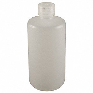 Bottle,1000 mL,32 Oz,Narrow Mouth,PK6