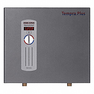 208/240VAC General Purpose Electric Tankless Water Heater, 21,600/28,800 Watts, 3 x 50 Amps AC