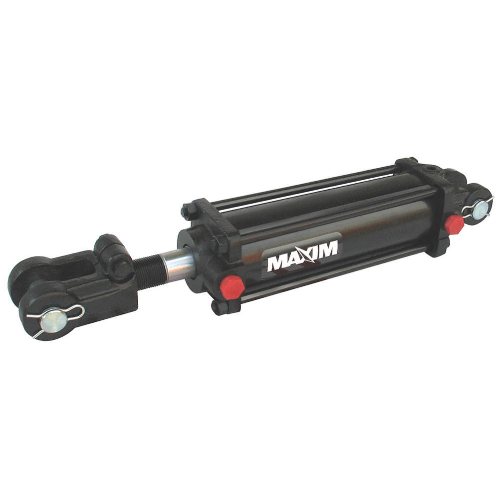 In. Maxim Double Acting Tie Rod Style Hydraulic Cylinder 2 Bore Dia. - 218-297 4 Stroke In.