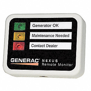 Generator Alert Monitor, For Use With Generac Standby Series Generators