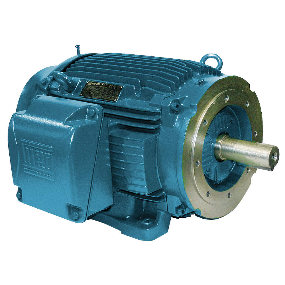 WEG 10 HP General Purpose Motor,3-Phase,3515 Nameplate RPM,Voltage ...