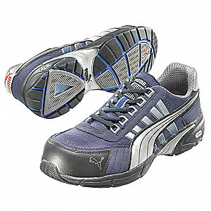 Athletic Work Shoes,Comp,Mn,6,Blue,PR