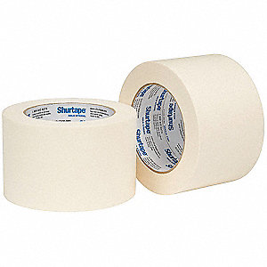 Masking Tape, 55m x 72mm, Natural, 4.8 mil