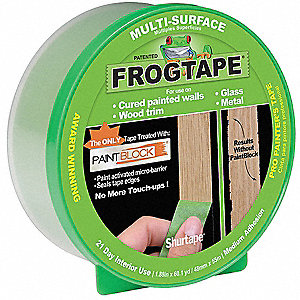 Painters Masking Tape, 55m x 48mm, Green, 5.7 mil