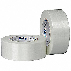 54.8m 4.2 mil Polypropylene/Fiberglass Filament Tape, Clear