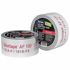Foil Tape,2-1/2 In. x 60 Yd.,Silver