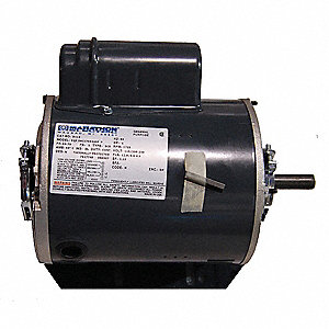 1 HP Evaporative Cooler Motor 1725 Nameplate RPM 115/208-230 Voltage 56 Frame