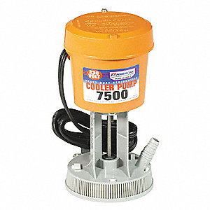 230 or 240V Re-Circulating Pump for Residential Coolers, Flow Rate 420 GPH