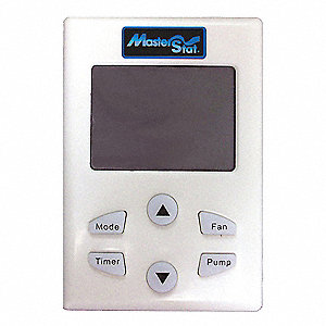 Digital Thermostat, PLASTIC, Includes Receiver and Wall Stat,For Use With Any Evaporative Cooler, Re