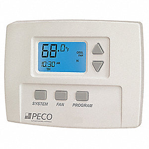 Fan Coil Thermostat,Digital,Programmable