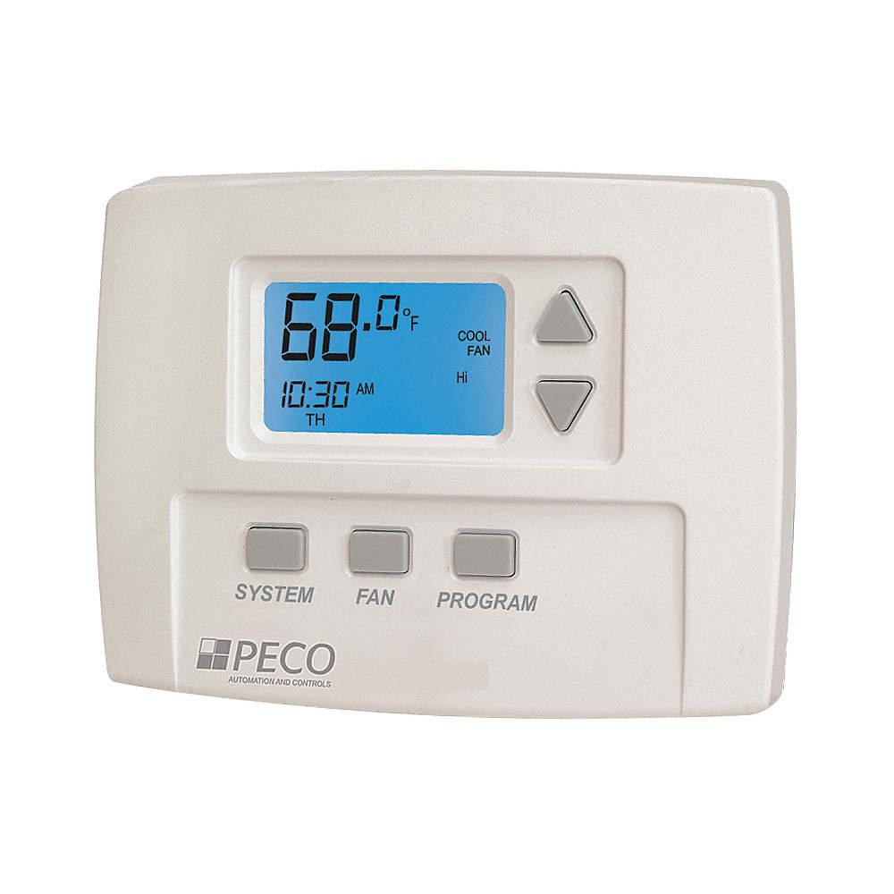 Fan Coil Thermostat, Digital, Programmable