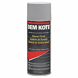 Solvent-Base Spray Primer, Flat Gray, 10 oz.