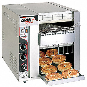"18 5/16"" Bagel Conveyor Toaster"