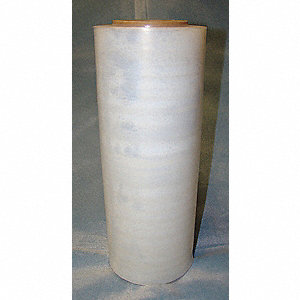 "15"" x 1500 ft. Polyethylene Hand Stretch Wrap, 70 Gauge, Clear, 1EA"